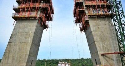La Nación / Puente financiado por Itaipú llegó a un 55% de ejecución