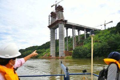 Puente de la Integración con 55% de avance