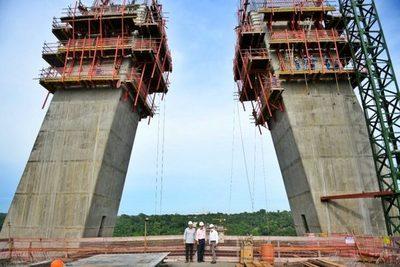 Obras del Puente de la Integración registra un 55% de avance