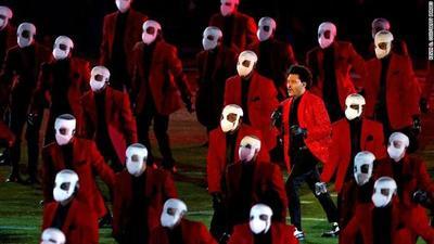 Lo más destacado de la presentación de The Weeknd en el Super Bowl