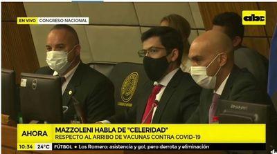 Ministro Mazzoleni informará al Congreso sobre adquisición de vacunas contra el COVID-19
