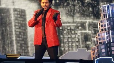 The Weeknd brilló en el espectáculo más atípico de la historia del Super Bowl