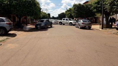 Ocupantes de dos vehículos se enfrentaron a tiros en Pedro Juan Caballero