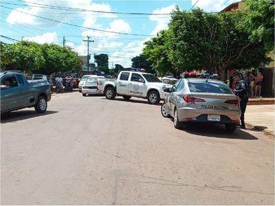 Un transeúnte fue herido durante balacera en Pedro Juan Caballero