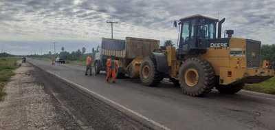 Obras en el tramo Pozo Colorado – Concepción avanzan en varios frentes