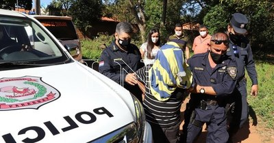La Nación / Presunto homicida detenido en Ñemby intentó autoeliminarse en la patrullera