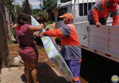 SEN asistió a 22.590 personas afectadas por el temporal •