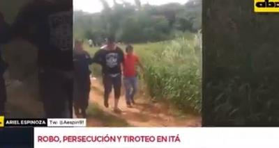 Asalto a surtidor, persecución y detenidos en Itá