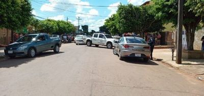 Un transeúnte herido tras balacera en Pedro Juan Caballero