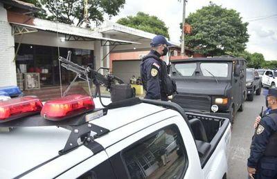 Fuerte dispositivo de seguridad custodia al Gringo González en el INERAM