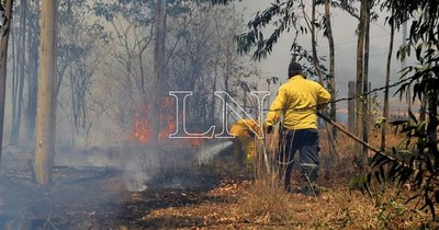 La Nación / Incendio en Patagonia argentina amenaza a comunidad mapuche