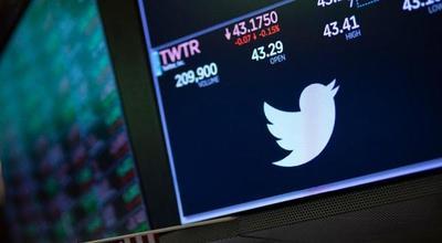 Caen las acciones de Twitter en Europa