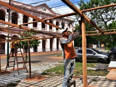 Retornan  ocupaciones en espacios históricos ante nueva crecida de río