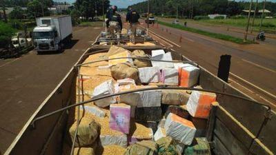 Casi 30 toneladas de marihuana que cruzaron la frontera fueron incautadas por la PRF