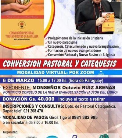 Invitan a taller sobre catequesis y conversión pastoral