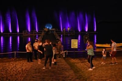 El muelle mirador ya recibe al público en la Costanera de Asunción