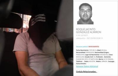 Capturan al peligroso Roque uno de los criminales más escurridizos – Prensa 5