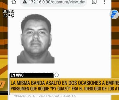 Capturan a Roque ''Py Guasu'' tras millonario asalto