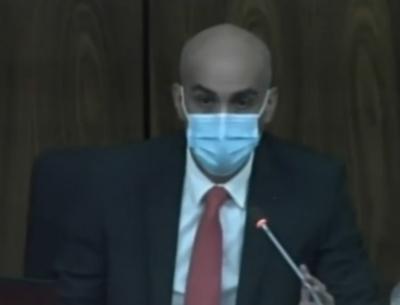 Ministro Mazzoleni presentó el informe sobre el Plan Nacional de Vacunación contra el coronavirus ante congresistas