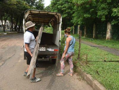 Calle Manuel Gondra, amenazada por nuevas invasiones de damnificados