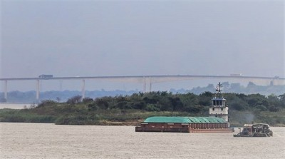 Ríos Paraguay y Paraná normalizan su navegabilidad con últimas métricas registradas tras lluvias