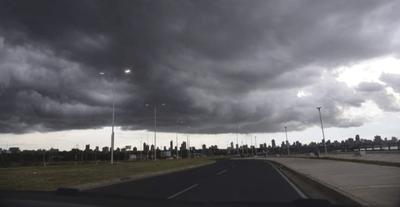 Alerta de tormentas para varios departamentos
