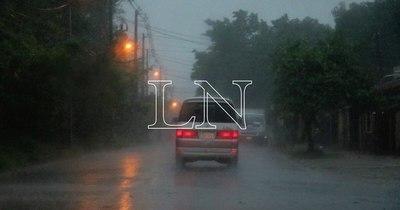 La Nación / Alerta meteorológica: lluvias, tormentas eléctricas y granizos para centro y sureste de la Región Oriental
