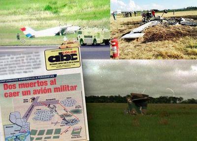 Accidentes con aeronaves militares que generaron susto o luto