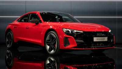 Audi presentó el nuevo e-tron GT, su primer gran turismo totalmente eléctrico