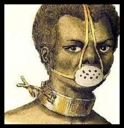 El bozal de los esclavos en el año 2020