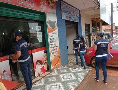 SET efectuó controles en comercios de Alto Paraná