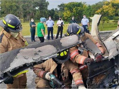 Informe preliminar de autopsia revela que piloto y copiloto murieron al instante