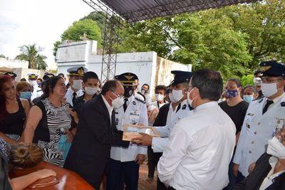 Emotiva despedida en Yaguarón del joven militar que falleció en el accidente aéreo