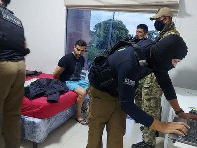 Seis allanamientos, hallazgo de laboratorio de drogas y detenidos