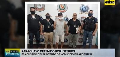 Detienen a paraguayo buscado en Argentina por quemar a su pareja
