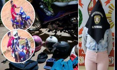 Allanan aguantadero de motochorros y detienen a mujer tras asalto a postulante a la Policía Nacional – Diario TNPRESS