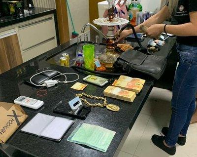 Allanamientos simultáneos, detenidos y hallazgo de laboratorio de drogas en PJC