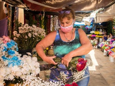 Faltarán rosas ecuatorianas  en Mercado 4 y se ingeniarán