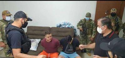 Operativo Frontera Segura: cuatro brasileños fueron detenidos y presumen que son miembros del PCC
