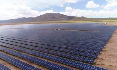 Bolivia tiene la planta solar más alta del mundo