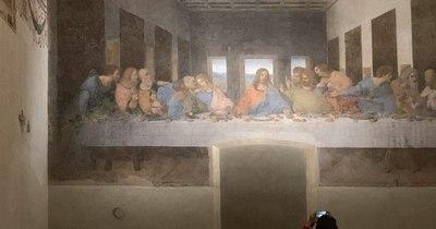 """La Nación / """"La última cena"""" de Leonardo da Vinci concluye su confinamiento"""