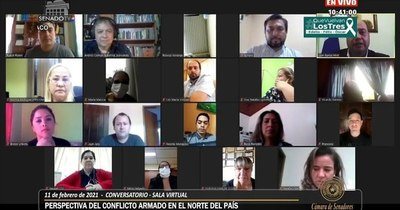 La Nación / Grupos armados desnudan terrorismo ideológico, sostienen en conversatorio