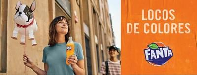 Fanta lanza una nueva campaña para inspirar a las personas a ver el lado positivo y divertido de la vida