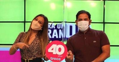 """La Nación / """"Canal Trece"""", el primer canal paraguayo 100% color  celebra 40 años"""