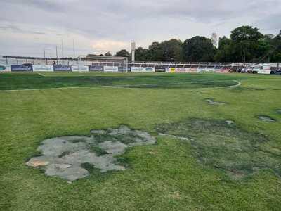 Postergan el encuentro en Guaireña FC y Libertad debido al mal estado de la cancha