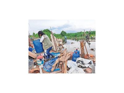 Familias volvieron a inundarse tras lluvias