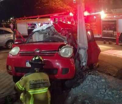 Fatal accidente en la zona de Presidente FRANCO