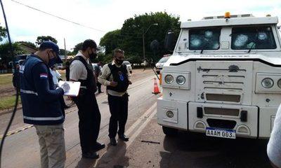 Megaasalto a transportadora de caudales en O'Leary camino al olvido, y se presume que policías estuvieron involucrados – Diario TNPRESS