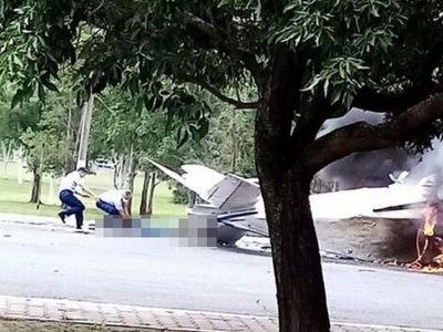 Pese al peligro, tres militares se arriesgaron para rescatar al único sobreviviente