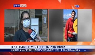 """Madre de joven sobreviviente agradece a """"los tres ángeles"""" que lo salvaron"""